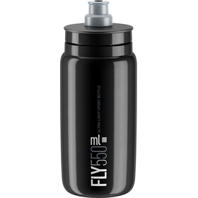 Elite Fly Drinking Bottle 0.5 l, black/grey logo